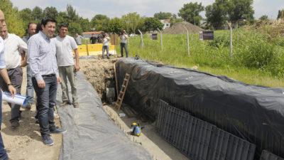 """M. Argentinas / Más obras para terminar con las inundaciones en el área de promoción """"El Triángulo"""""""