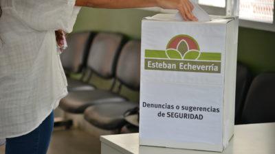 """E. Echeverría / Ponen urnas para dejar """"denuncias anónimas"""" sobre inseguridad"""