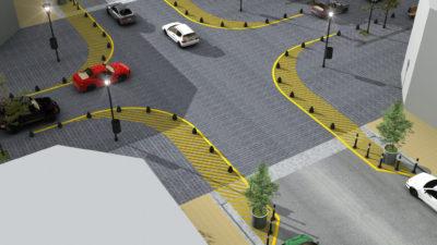 La Plata / La Municipalidad avanza con la renovación de los centros comerciales