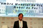 """ODINO """"la Voz por la Paz en el mundo"""" dice presente en la 16º Cumbre Mundial de Nobeles en Colombia"""