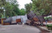 Mar del Plata / Destrozos y 47 evacuados tras el temporal