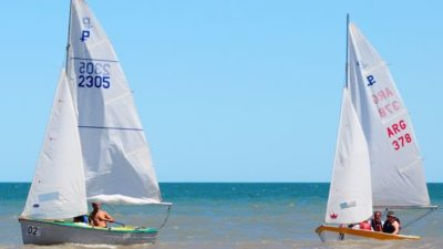 La Laguna Sauce Grande recibe la 1º fecha del Grand Prix Nacional de Yachting 2017