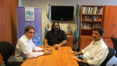 Defensor del Pueblo / Lorenzino analizó con Baradel los desafíos que se vienen para la educación en la provincia