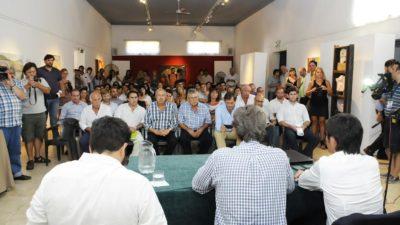 El plan de urbanización nacional reunió a 14 municipios de la 5º Sección