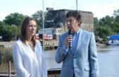 Vidal y Posse anunciaron un nuevo parque público en el Puerto de San Isidro