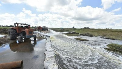 """Inundaciones: """"Villegas es el partido más complicado de la Provincia"""""""