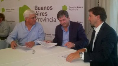 Gral Guido/ Loubet firmó convenio para la construcción de 16 nuevas viviendas en Labardén