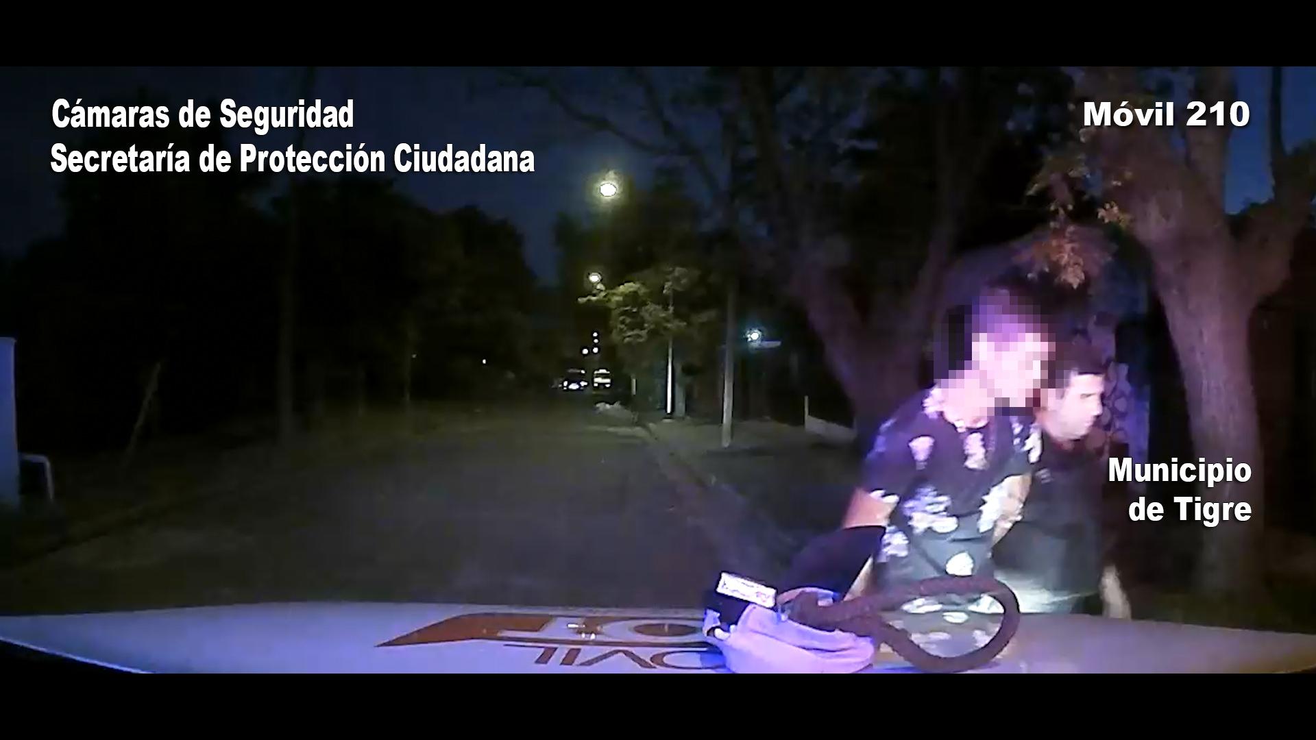 Tigre / Capturan desde el COT a un ladrón de bicicletas