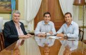 Mosca y Gribaudo firmaron un convenio de colaboración