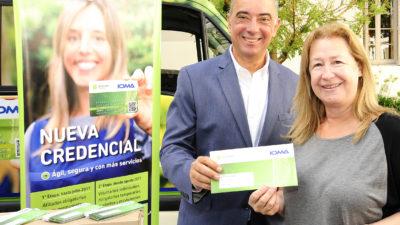 La Plata / IOMA entrega las nuevas credenciales