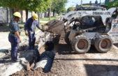 San Martín / El Plan de Obras Hidráulicas se sigue extendiendo en toda la ciudad