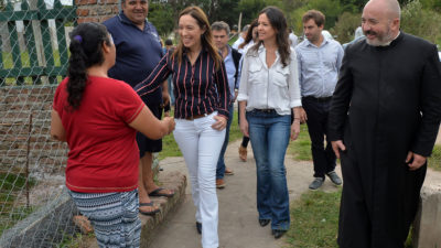José C. Paz / Vidal y Stanley visitaron la Fundación San José Providente