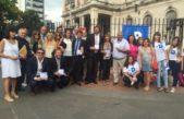 La defensoria ciudadana y el colegio de abogados de LP realizaron actividades en conjunto en el marco del día de la mujer