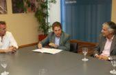San Martín / Katopodis y Lorenzino firmaron un convenio para abrir un canal de quejas para los consumidores