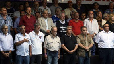#MarchaCGT / Anunciaron el primer paro nacional a Macri a fin de mes o principios de abril