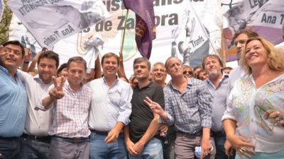 """#MarchaCGT/ Intendentes y dirigentes peronistas se """"plegaron"""" a la marcha"""