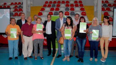 Morón / Tagliaferro, De la Torre y Scatolini entregaron un centenar de escrituras