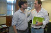 Lincoln / Echarren visitó a Serenal y analizaron como implementar el plan de tierra y vivienda