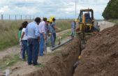 Cnel Pringles / Avanzan a buen ritmo las obras de desagües cloacales en Indio Rico