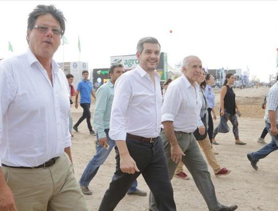 """Peña sostuvo en la ExpoAgro que la presión fiscal en Argentina es """"todavía muy alta"""""""