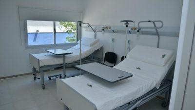 Echeverría / inauguraron una nueva ala del Hospital Santamarina