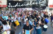 Judiciales vuelven a parar en reclamo de la reapertura de las paritarias
