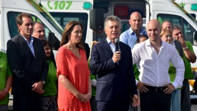 """Macri presentó el SAME en La Plata """"hacer buena política es cuidar a la gente"""""""