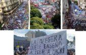 #ParoNacionalDocente/ Multitudinaria e histórica marcha contra el gobierno de Macri