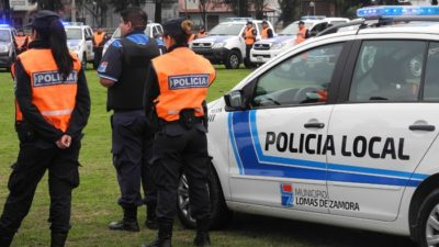"""Lomas de Zamora / Baloira defiende a la policía local para """"cuidar a los vecinos"""""""
