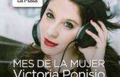 Victoria Ponisio continúa con el ciclo de recitales por el mes de la mujer en el Islas Malvinas