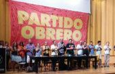 El Partido obrero lanzó su campaña de cara a las legislativas de octubre