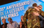 #35añosMalvinas / Homenajearon en Tigre a los ex combatientes de Malvinas con una conmovedora vigilia