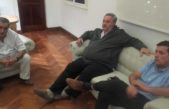 T. Lauquen / De la Torre se reunió con los intendentes del noroeste afectados por las inundaciones