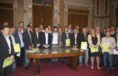 Echarren cerró su paso por el gabinete de Vidal con el apoyo de 50 intendentes
