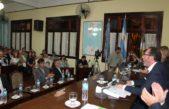 C. Casares / Torchio abrió las sesiones asegurando 100% de agua y cloacas para toda la ciudad