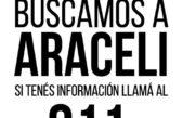 San Martín / Con desesperación sigue la búsqueda de Araceli