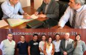 Tres Lomas / Álvarez realizó gestiones en la Escribanía General de Gobierno de la provincia