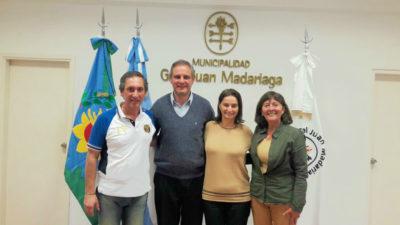 Gral. Madariaga / Autoridades se reunieron con representantes de la Asociación Empresaria Hotelera Gastronómica de Pinamar