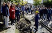 Lomas de Zamora / Vidal y Gladys González visitaron villa fiorito