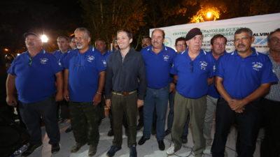 """#Malvinas35Años / """"Ellos son nuuestros Héroes"""", dijo el intendente de E. Echeverría"""