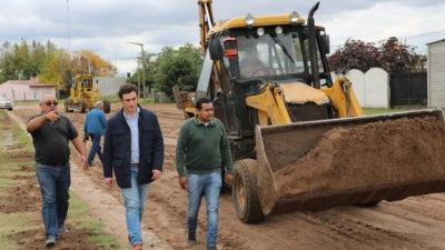 25 de Mayo / Tras 18 años vuelve el pavimento a Norberto de la Riestra