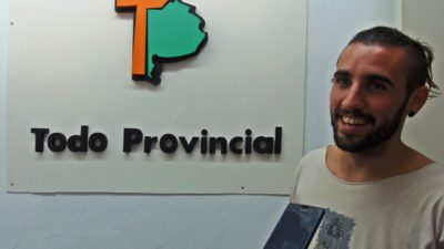ANDÓNI: Callejero por elección y cirquero por amor