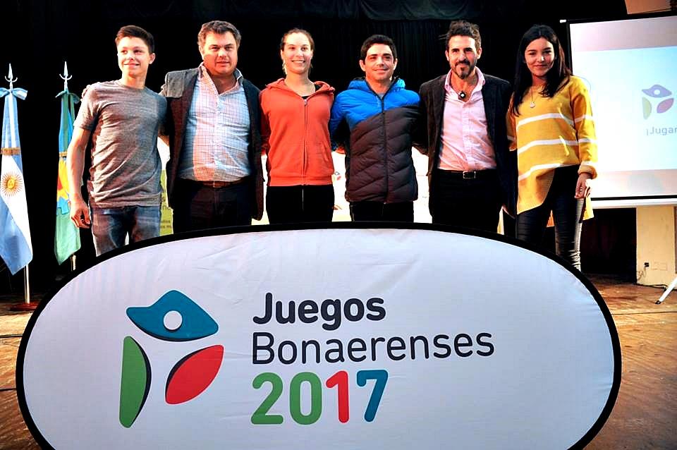 Con muchas novedades, se lanzaron oficialmente los Juegos Bonaerenses 2017