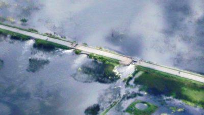 Zurro alertó que si La Pampa corta el Camino del Meridiano se inundará todo el noroeste bonaerense