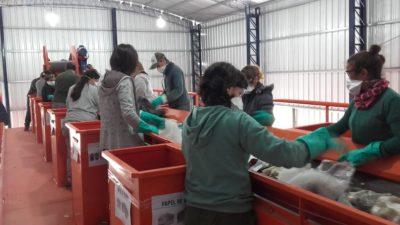 Castelli / Comenzó a funcionar la nueva planta de recuperación de residuos