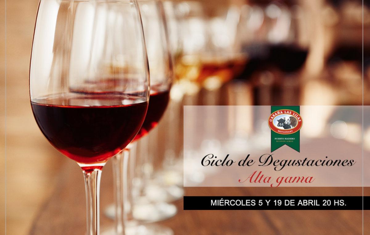 Cabañas Las Lilas presenta su nuevo ciclo de degustaciones de vino Alta Gama