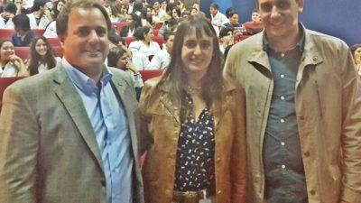 """Gral Madariaga / Pampín y Coll Areco compartieron charlas con estudiantes secundarios """"apostar a la educación, es apostar al futuro"""""""