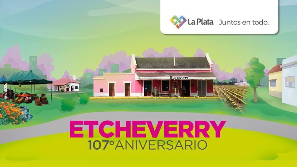 La Plata / Etcheverry celebra sus 107 años con música y juegos para la familia