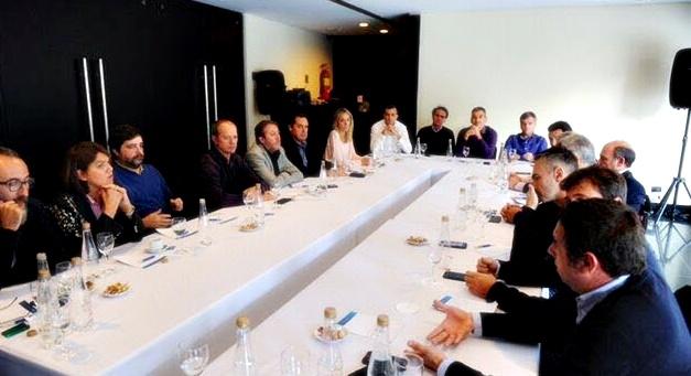 """""""Nosotros vamos por las PASO"""", aseguró Patricio García después de reunirse con Randazzo"""