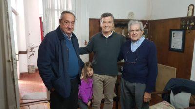 De descanso en Tandil, Macri visitó al intendente de la UCR que impulsa listas puras para las PASO